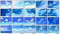 アニメ背景シリーズ空・雲